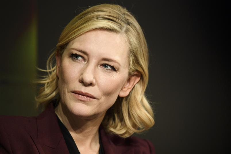 Australian actress and anti-sexual harassment campaigner Cate Blanchett (KEYSTONE/Gian Ehrenzeller)