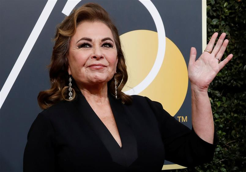 L'actrice Roseanne Barr.