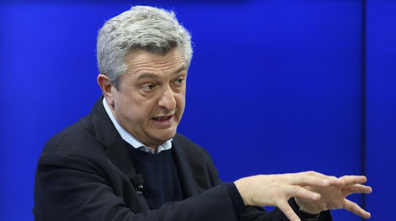 UNHCR-Chef Filippo Grandi am WEF 2017.