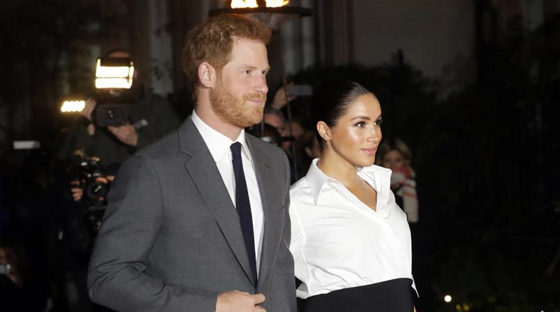 Harry und Meghan (AP Photo/Kirsty Wigglesworth, file)